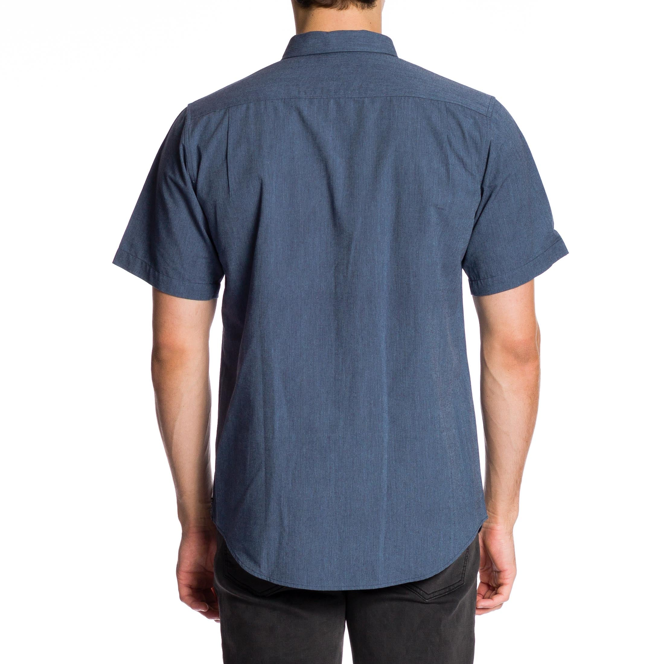 Smiths Short Sleeve Shirt - Blue
