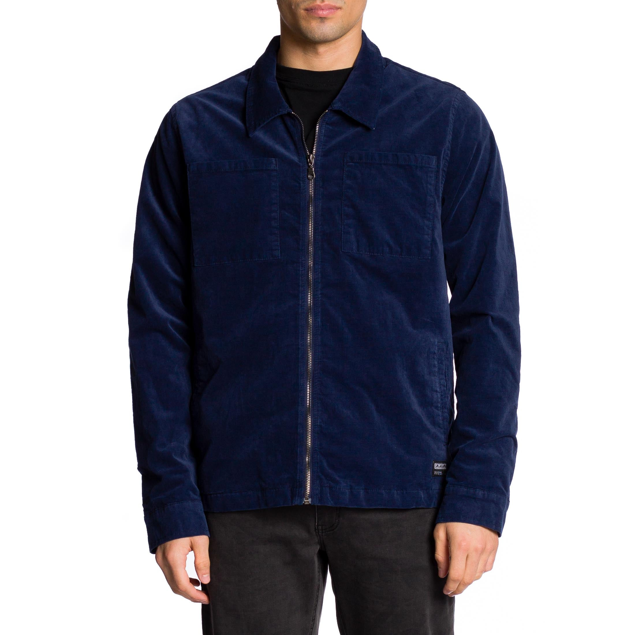 Morrison Jacket - Navy - Ezekiel Clothing