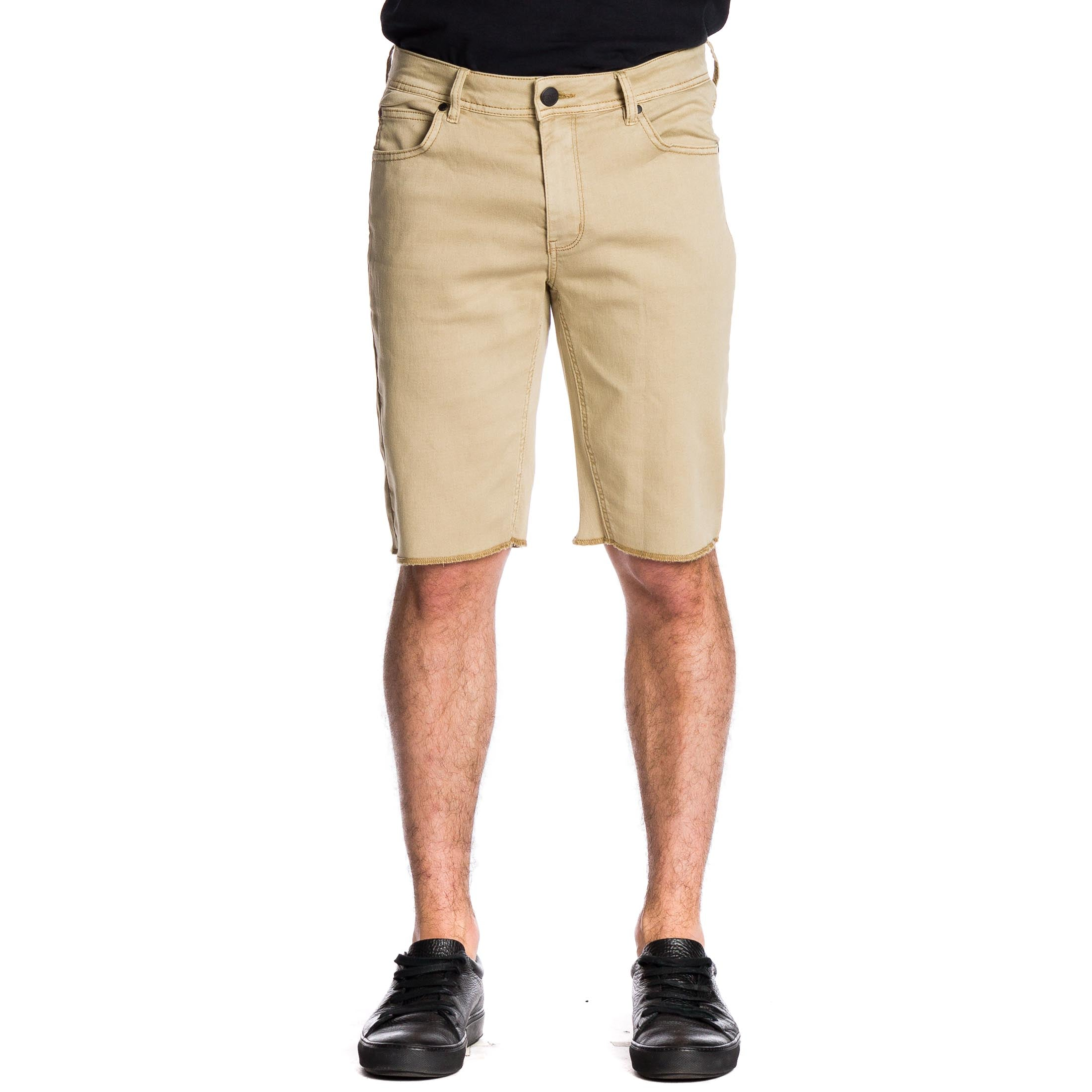Now Denim Short - Camel - Ezekiel Clothing