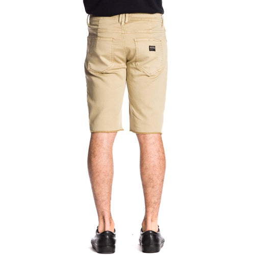 Now Denim Short - Camel