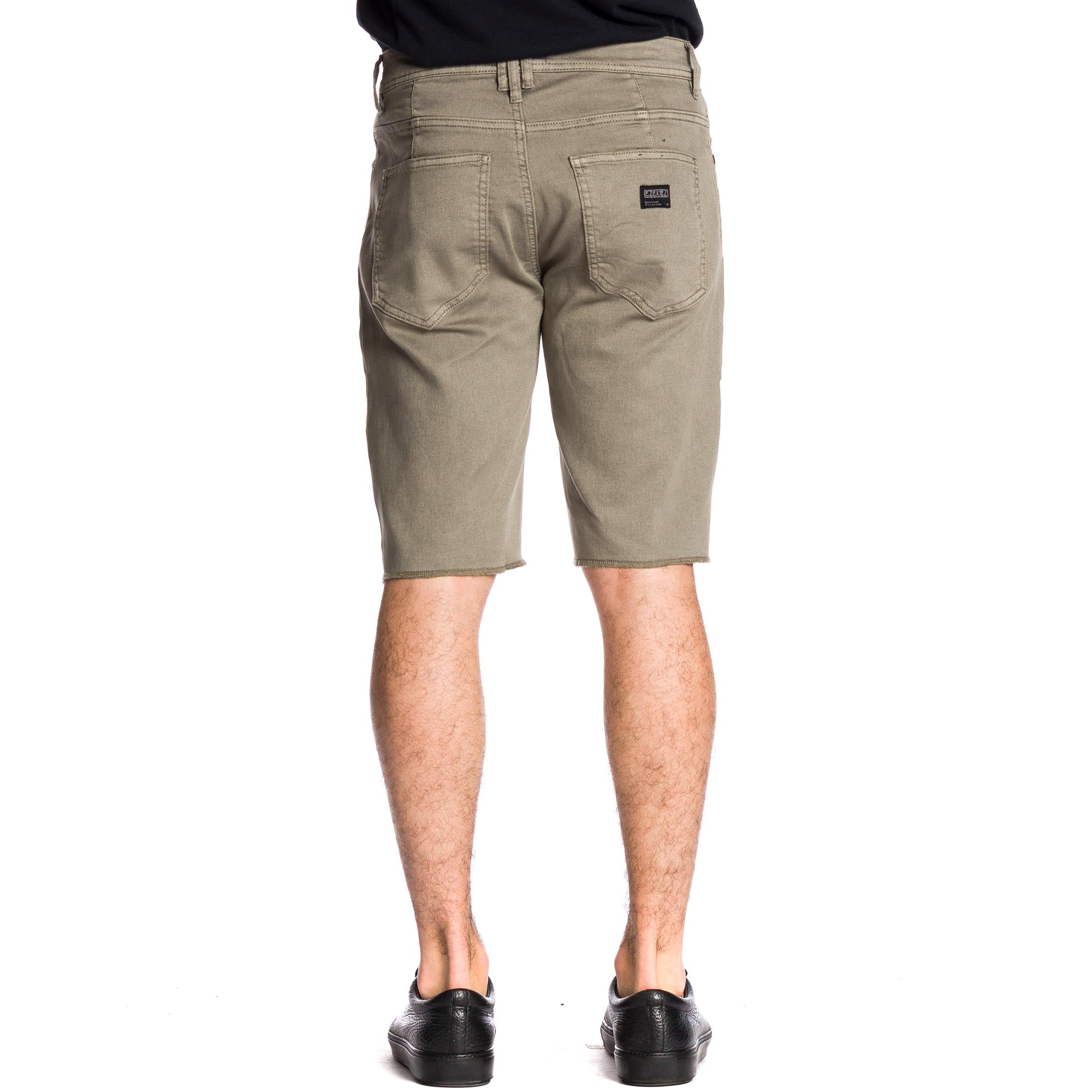 Now Denim Short - Dark Sienna - Ezekiel Clothing