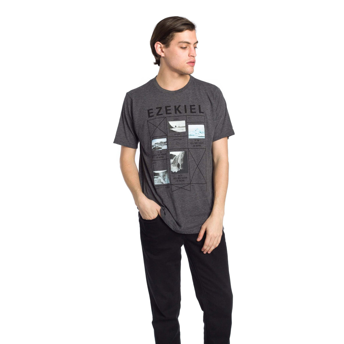 Pratt Premium T-Shirt - Heather Black