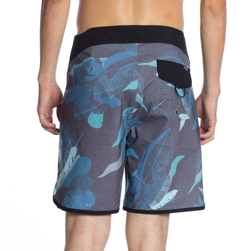 "Tropic Thunder 18"" Boardshort - Black"