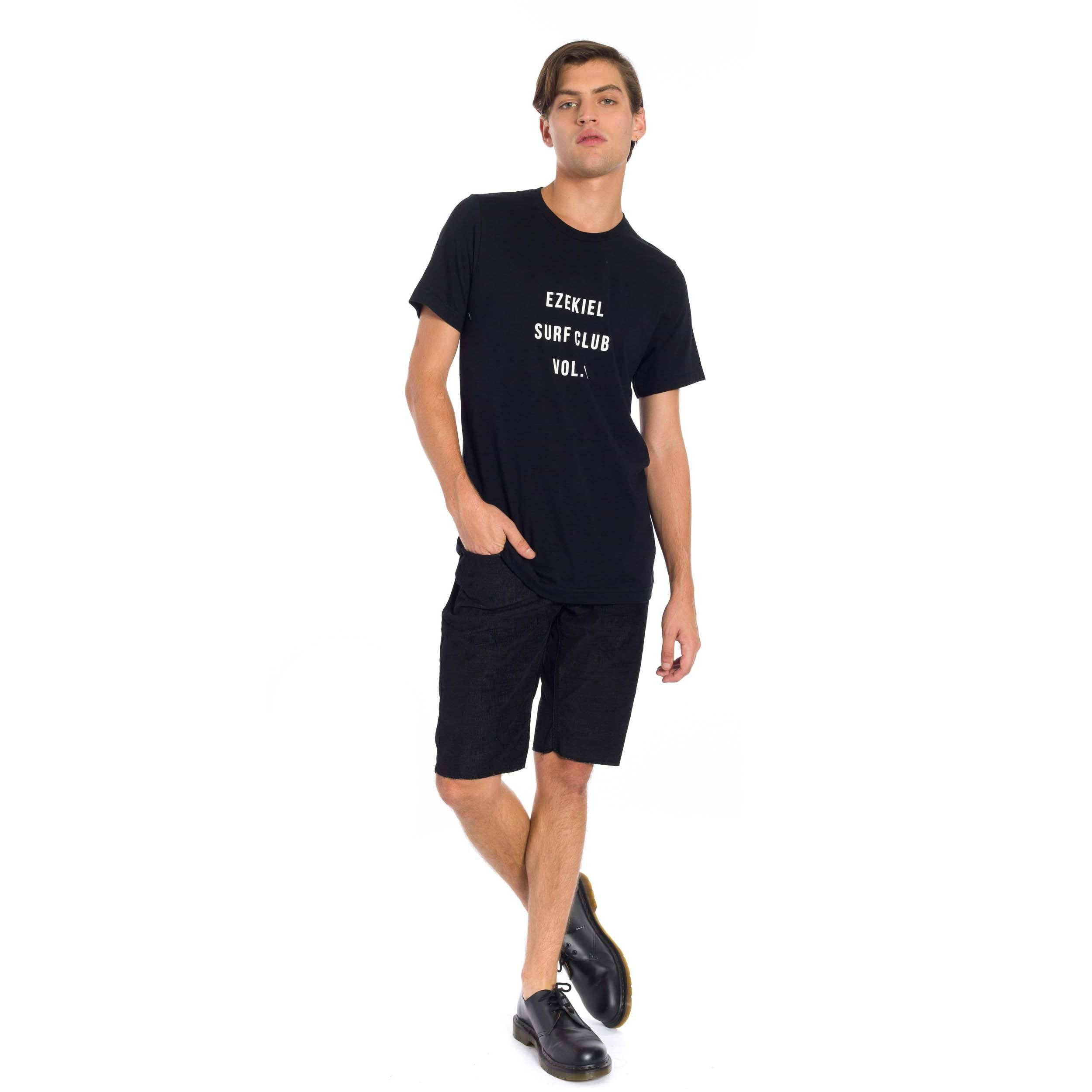 Burt Waves T-Shirt - Black