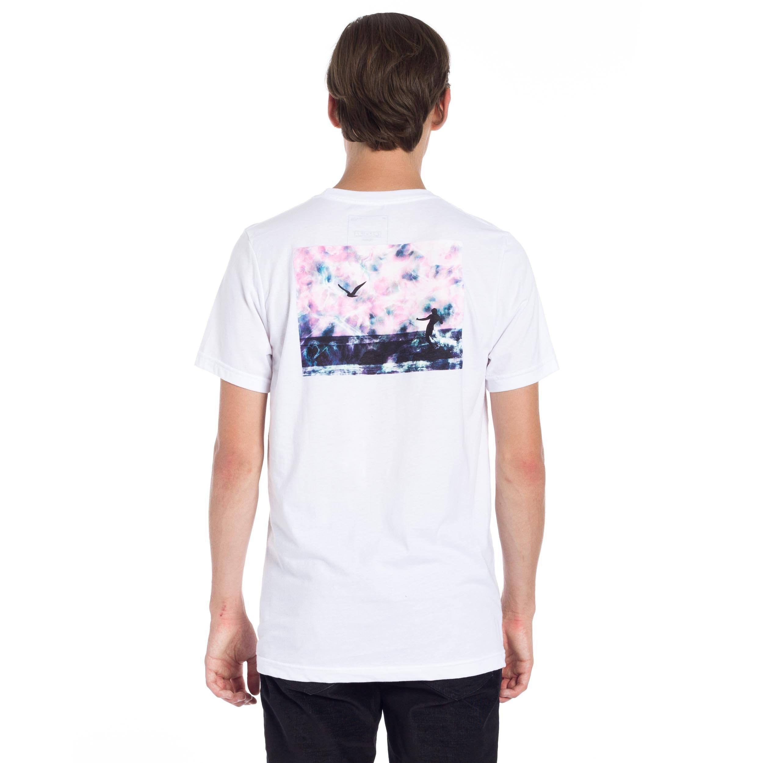 Burt Waves T-Shirt - White
