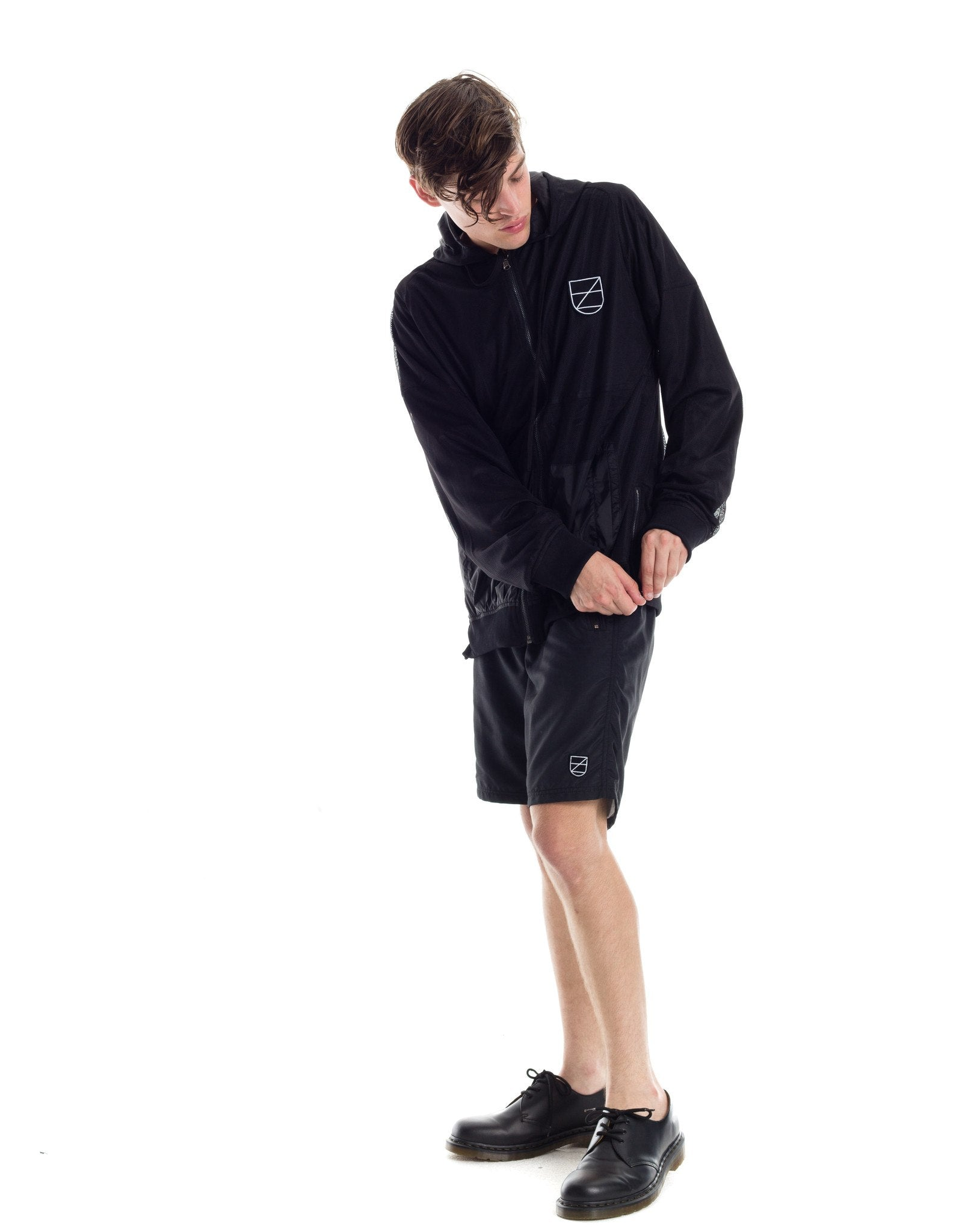 Hozer Pullover Jacket - Black