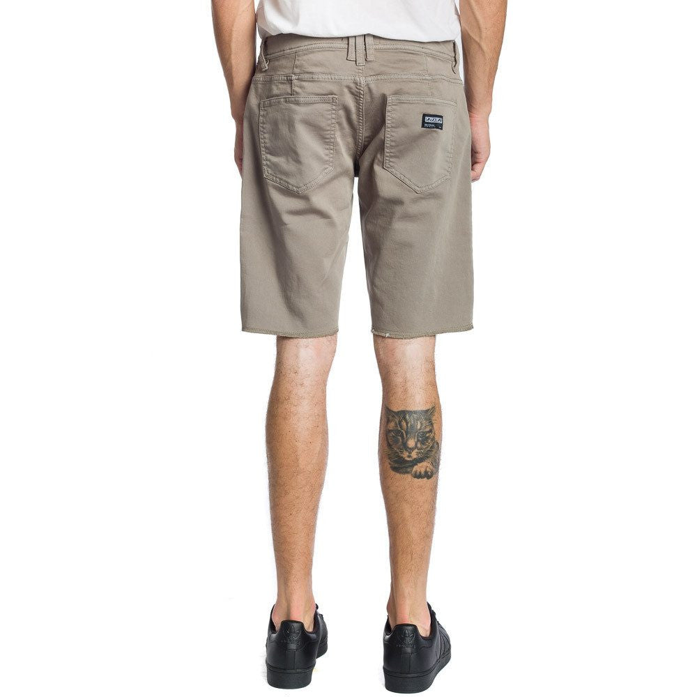 NOW Denim Short - Taupe