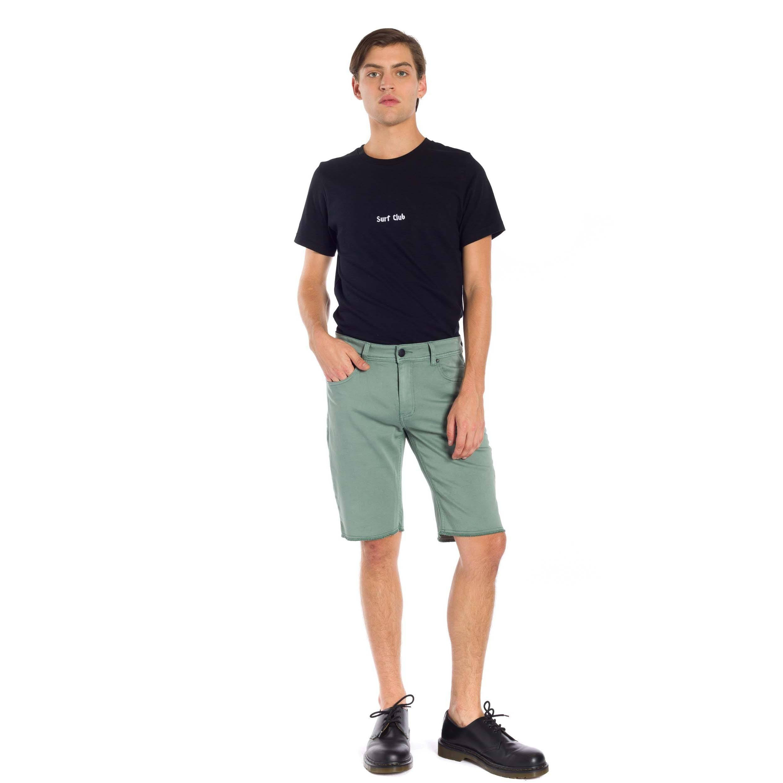 Now Denim Short - Green