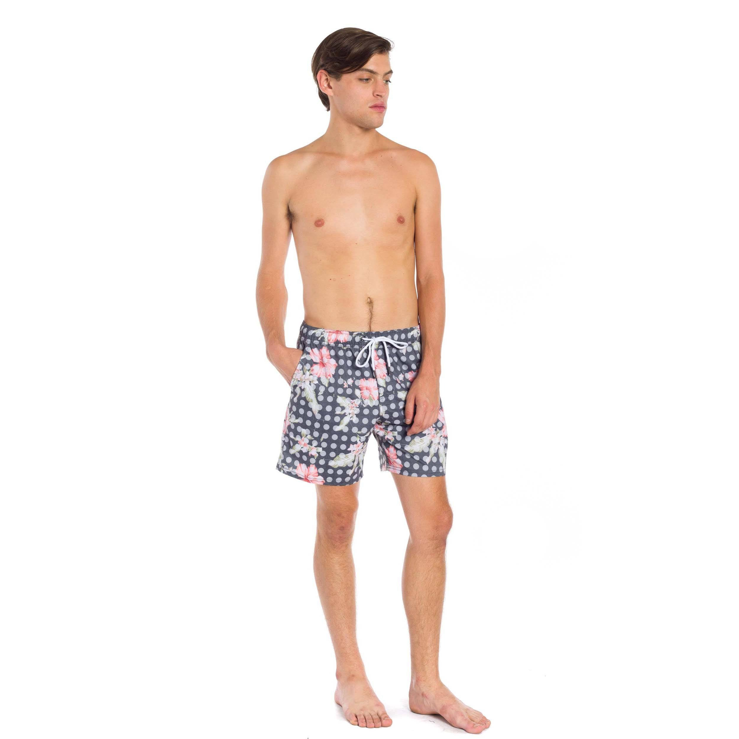 Laguna Swim Trunk - Black