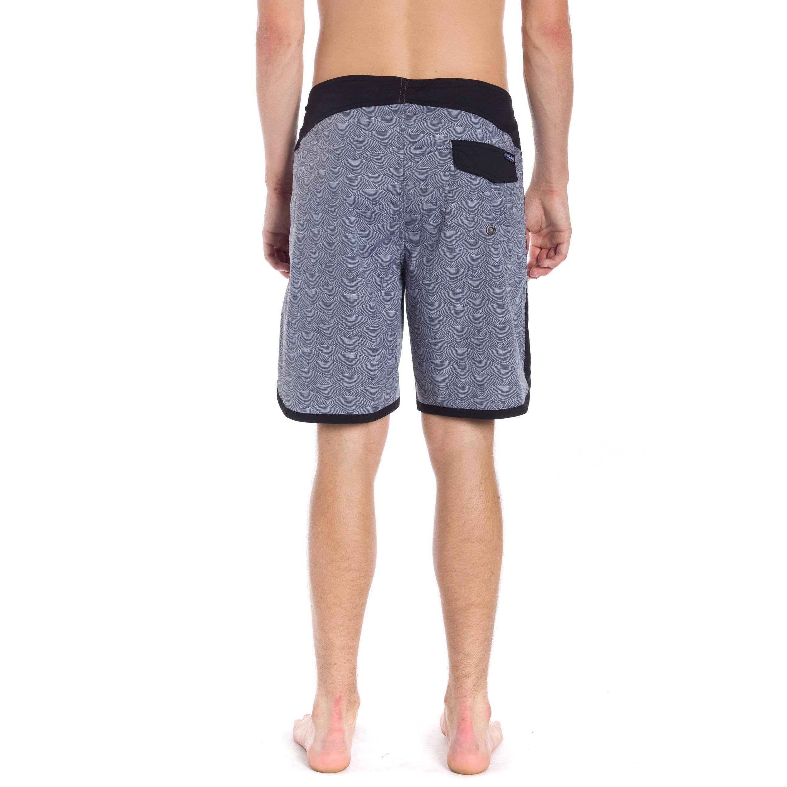 "Summit 18"" Boardshort - Black"