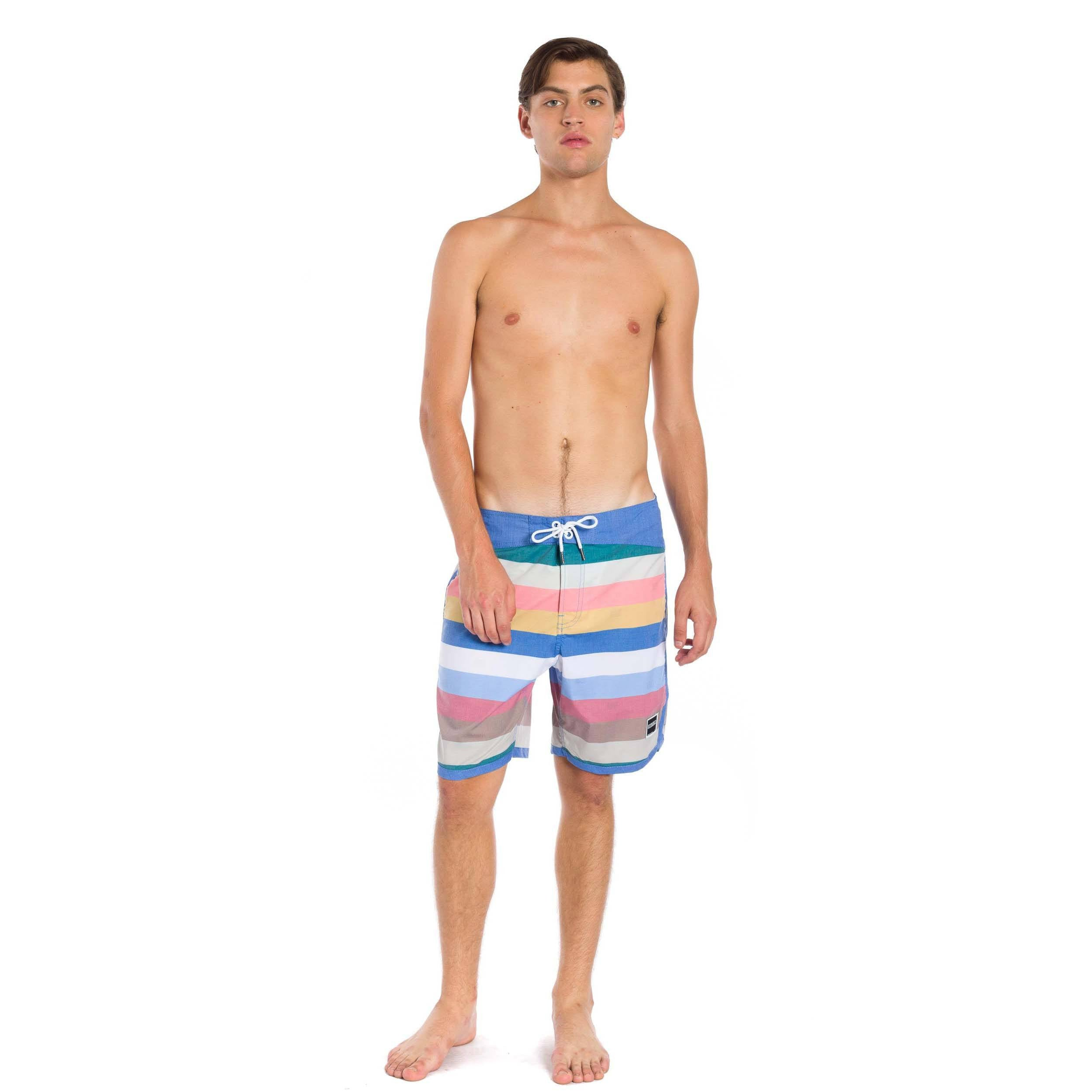 "Killua 18"" Boardshort - Dark Rose"