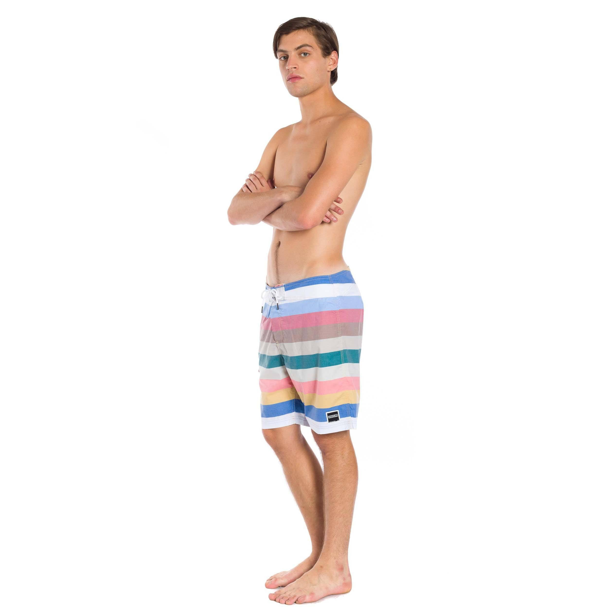 Killua Boardshort - Dark Rose