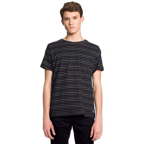 Morris Knit T-Shirt - Black