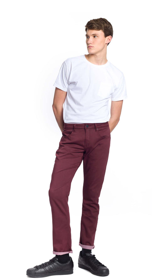NOW Denim - Burgundy