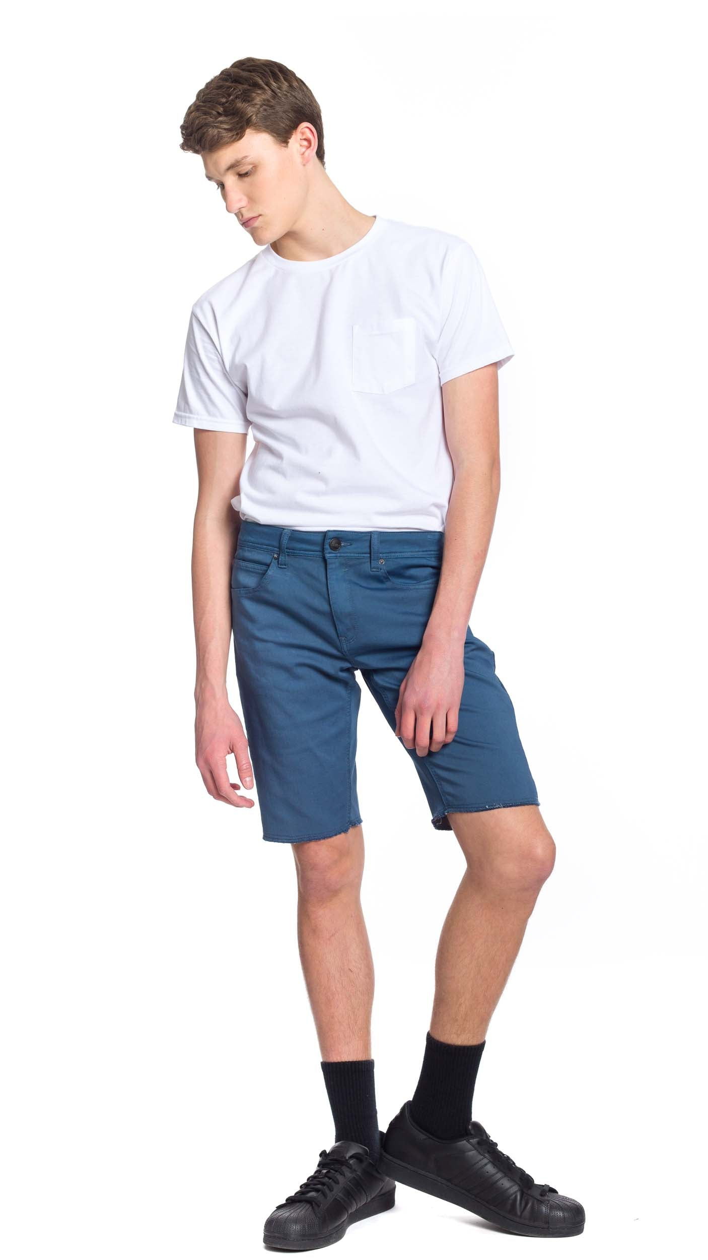 NOW Denim Short - Blue - Ezekiel Clothing
