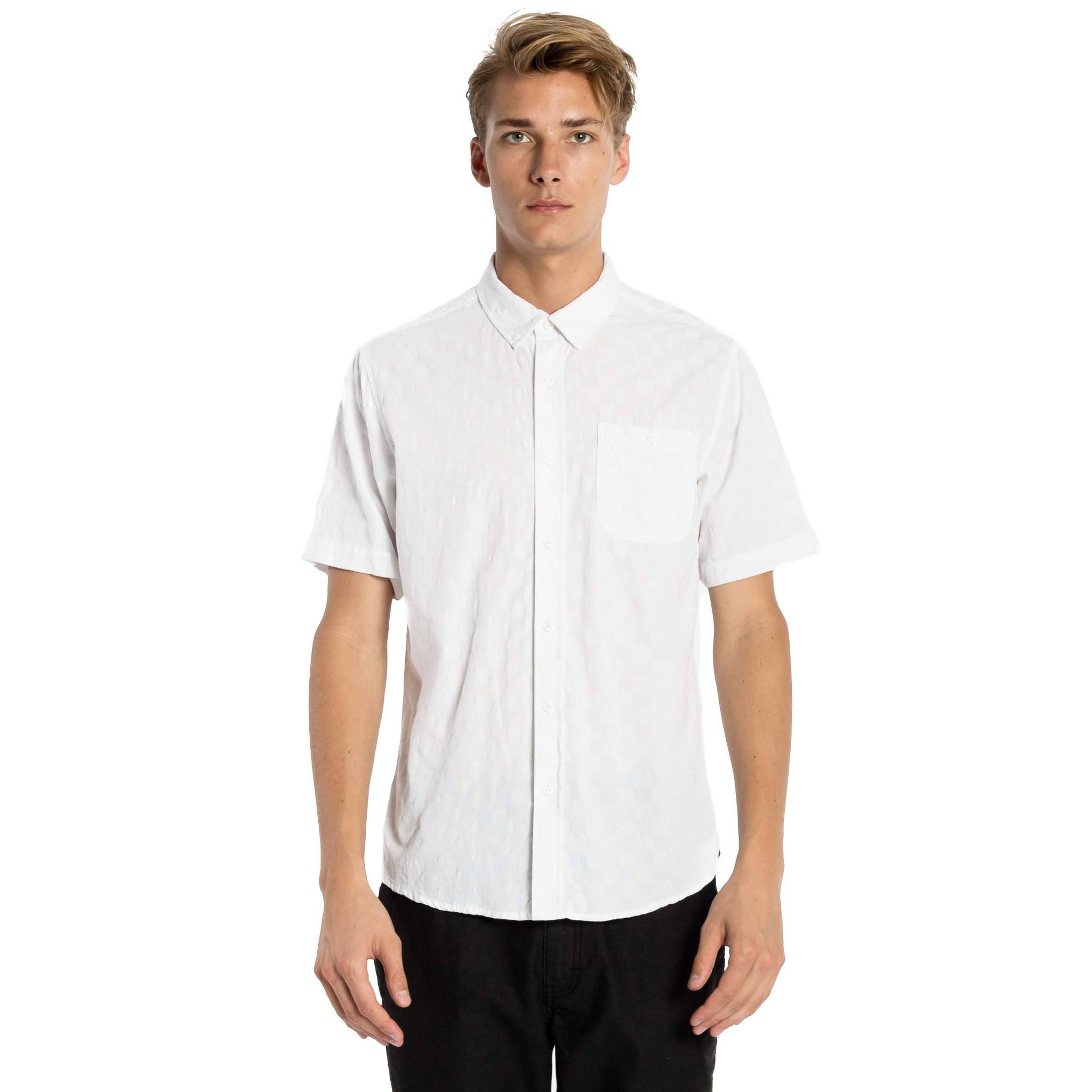 Highland Shirt - White - Ezekiel Clothing