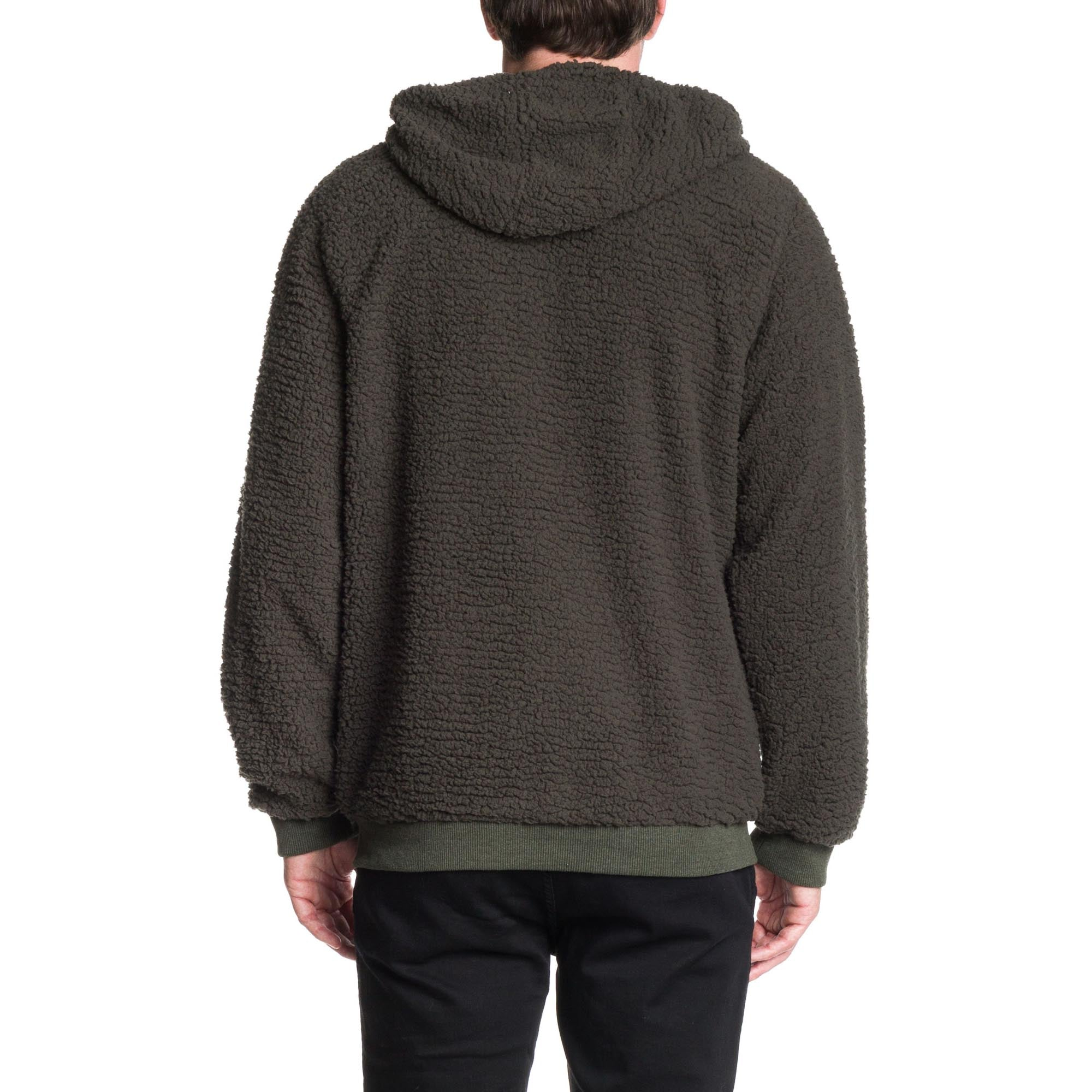 Alpaca Hoodie - Military Green - Ezekiel Clothing