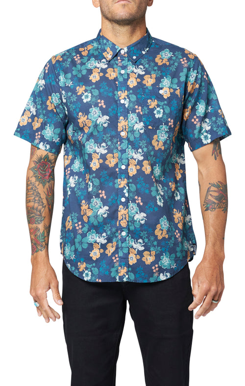 Schwimmer Shirt - Dark Blue