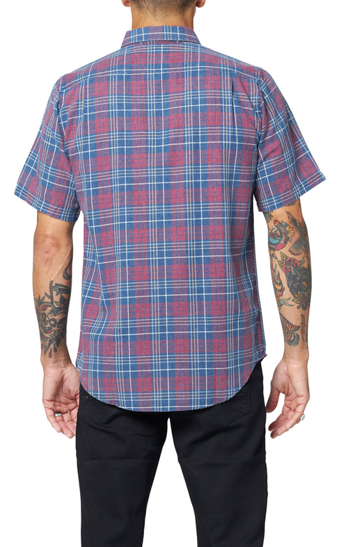 Seaview Shirt - Burgundy
