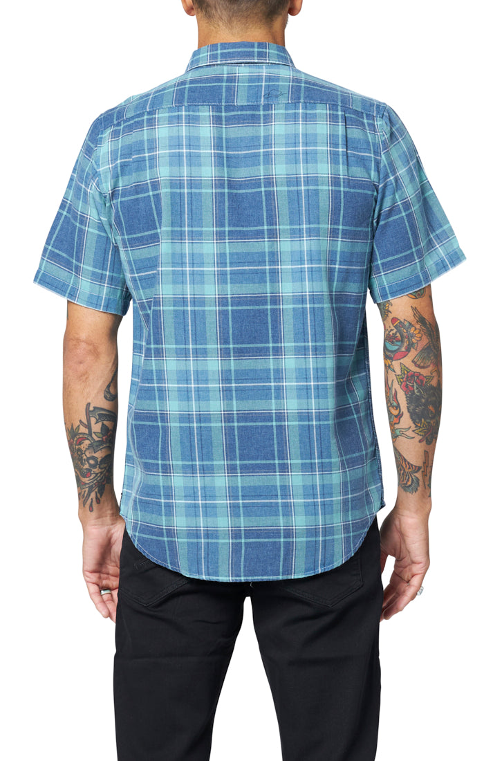Davenport Shirt - Dusty Jade