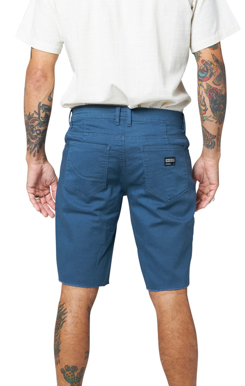 Now Denim Short - Marine Blue