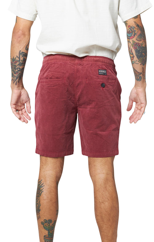 Johnson Short - Deep Red