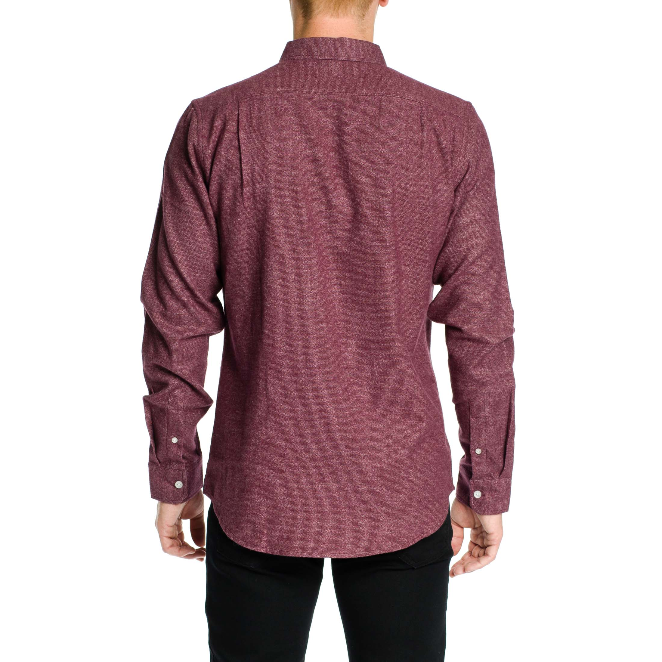 Everett Shirt - Burgundy - Ezekiel Clothing