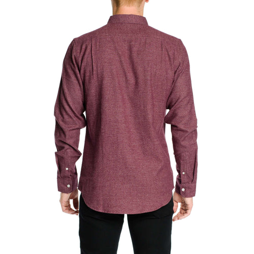 Everett Shirt - Burgundy