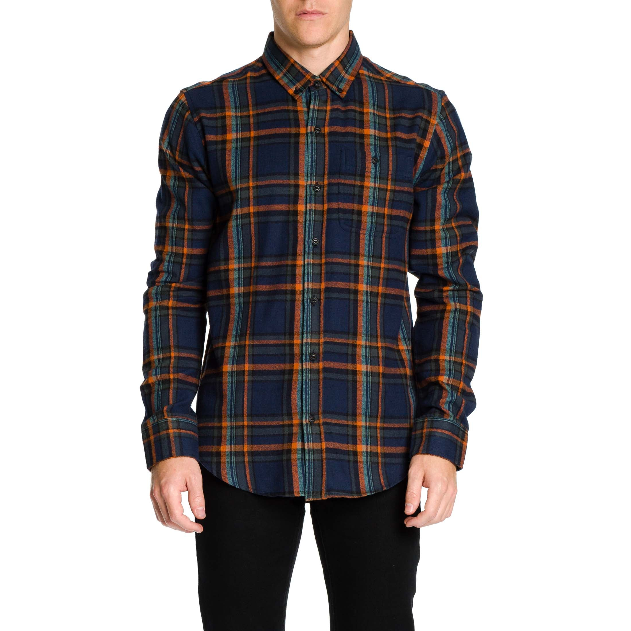 Russo Shirt - Navy - Ezekiel Clothing