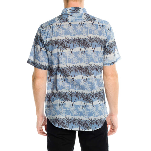 Palm Dreams Shirt - Blue