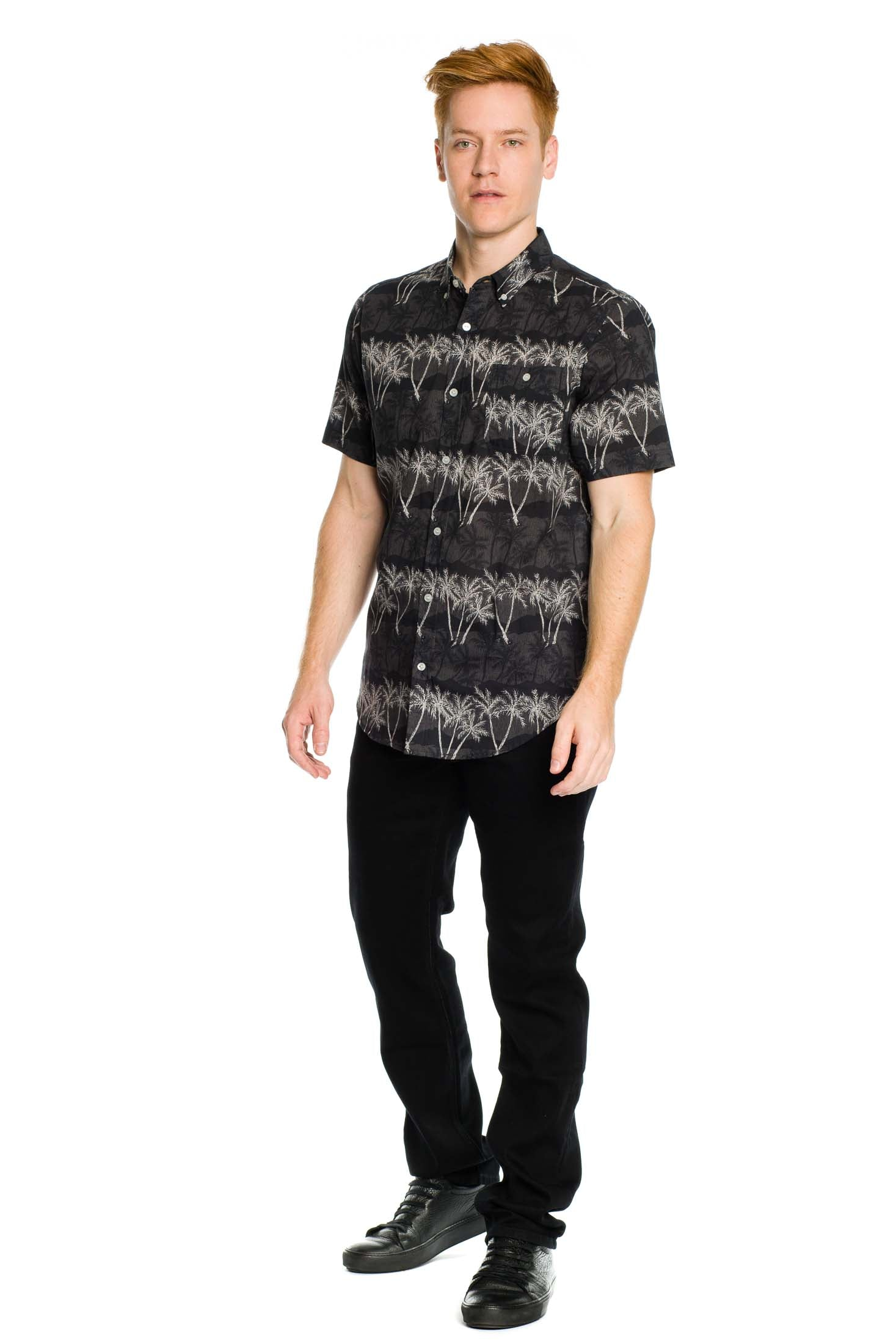 Palm Dream Shirt - Black - Ezekiel Clothing