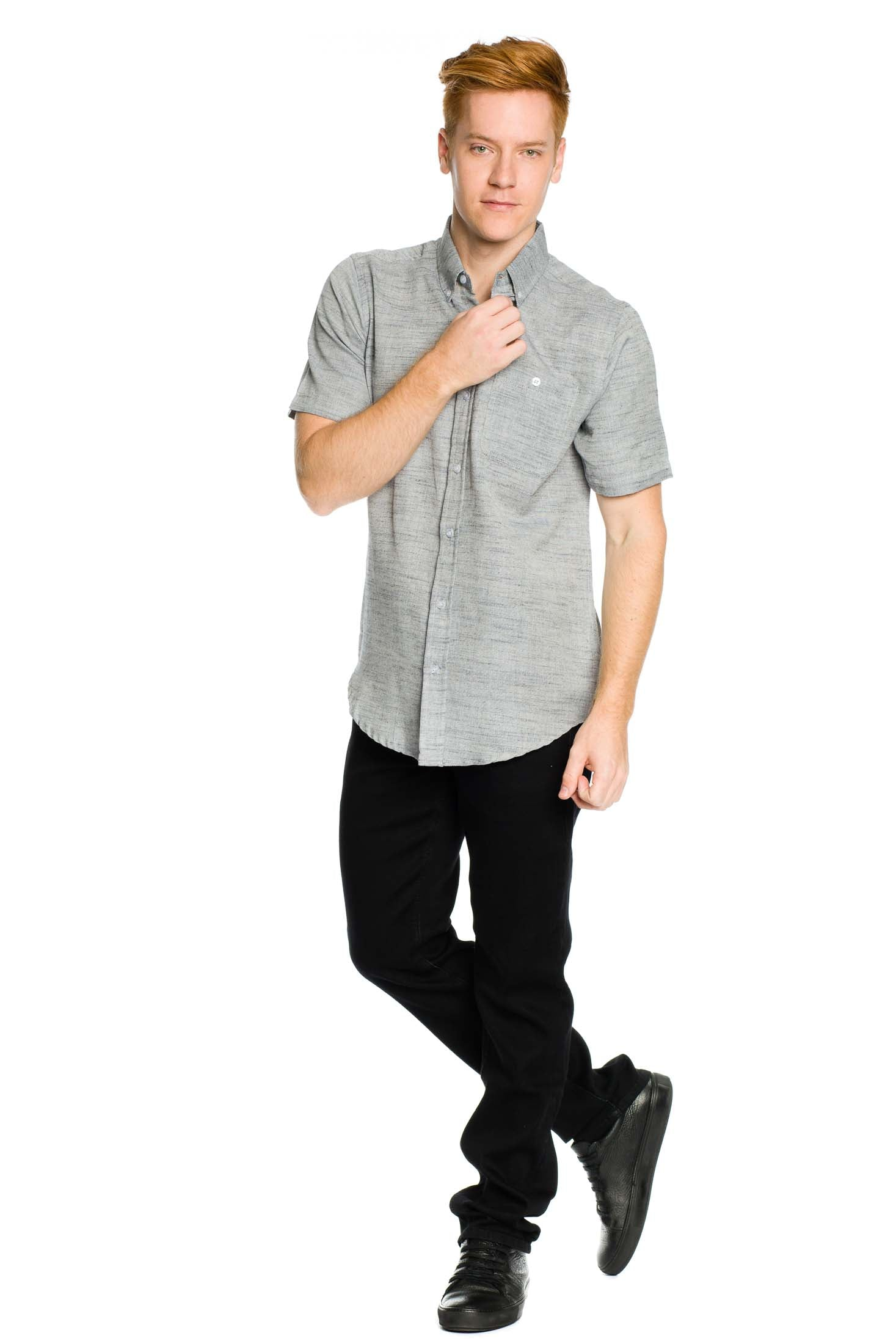 Davos Shirt - Grey - Ezekiel Clothing