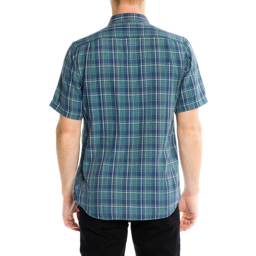 Greenwich Short Sleeve Shirt - Dusty Jade