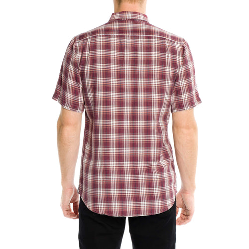 Greenwich Short Sleeve Shirt - Merlot
