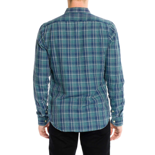 Greenwich Shirt - Dusty Jade
