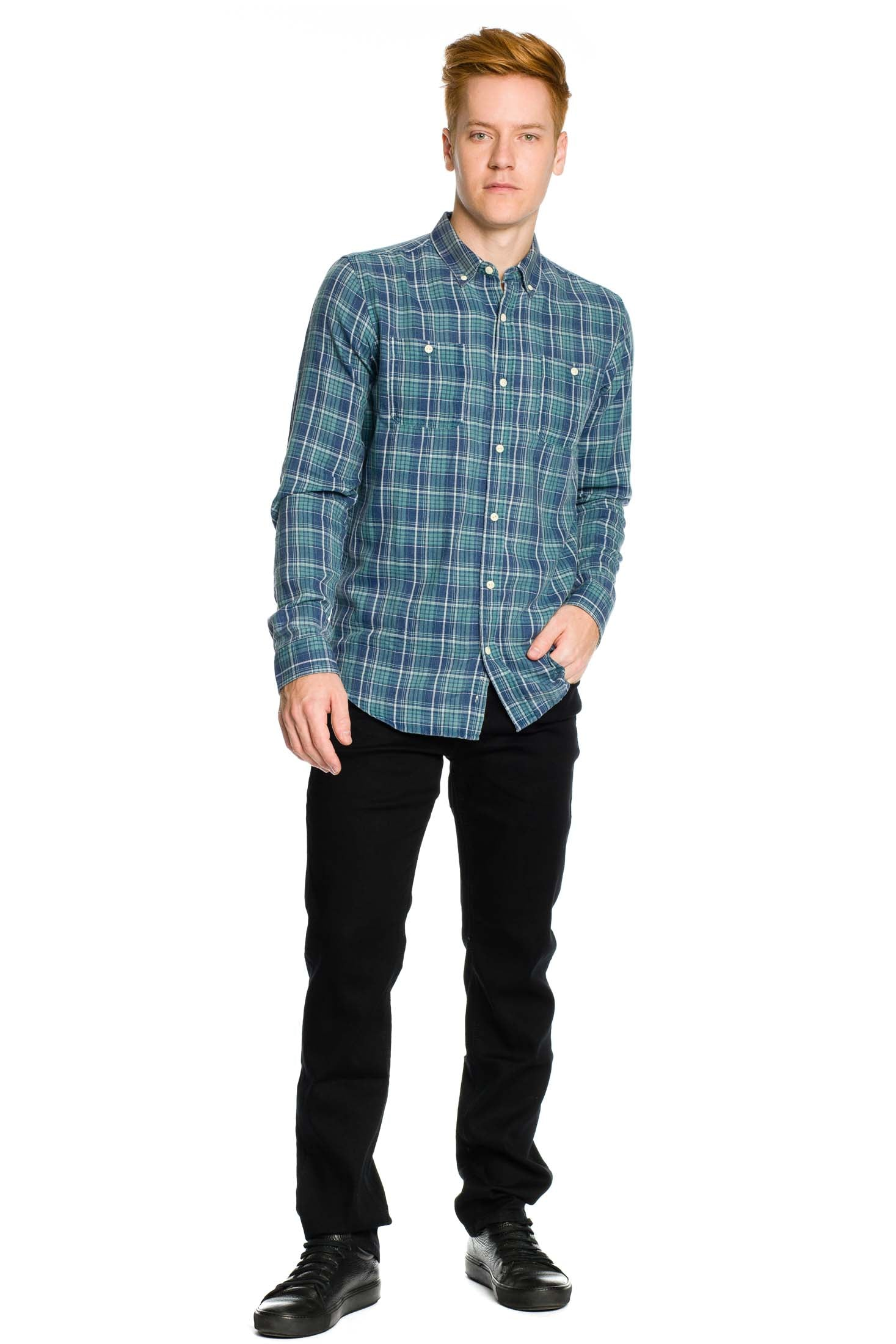 Greenwich Shirt - Dusty Jade - Ezekiel Clothing