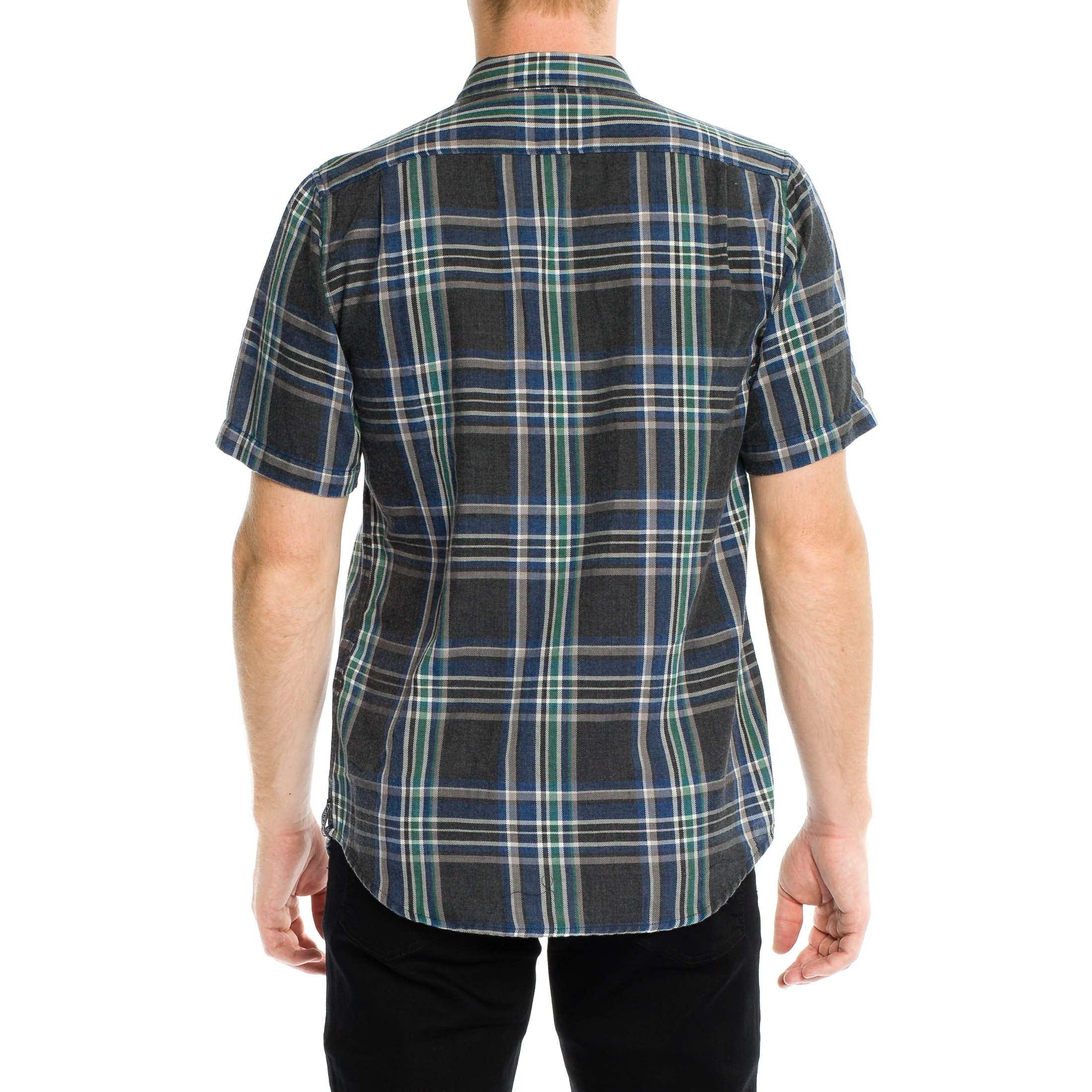 Soho Short Sleeve Shirt - Black - Ezekiel Clothing