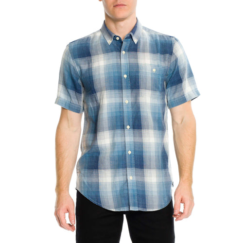Tarly Short Sleeve Shirt - Blue