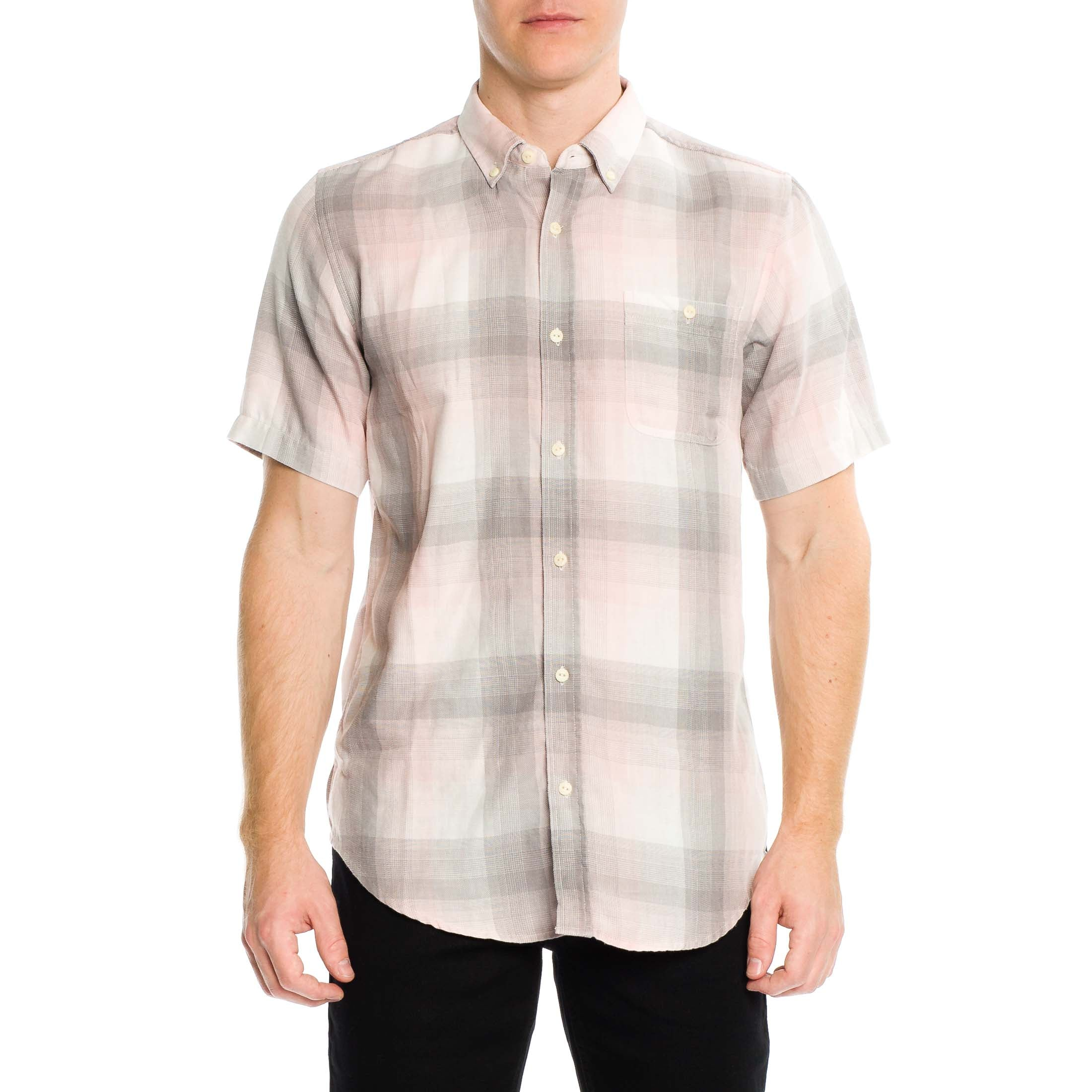 Tarly Short Sleeve Shirt - Sandy Rose - Ezekiel Clothing