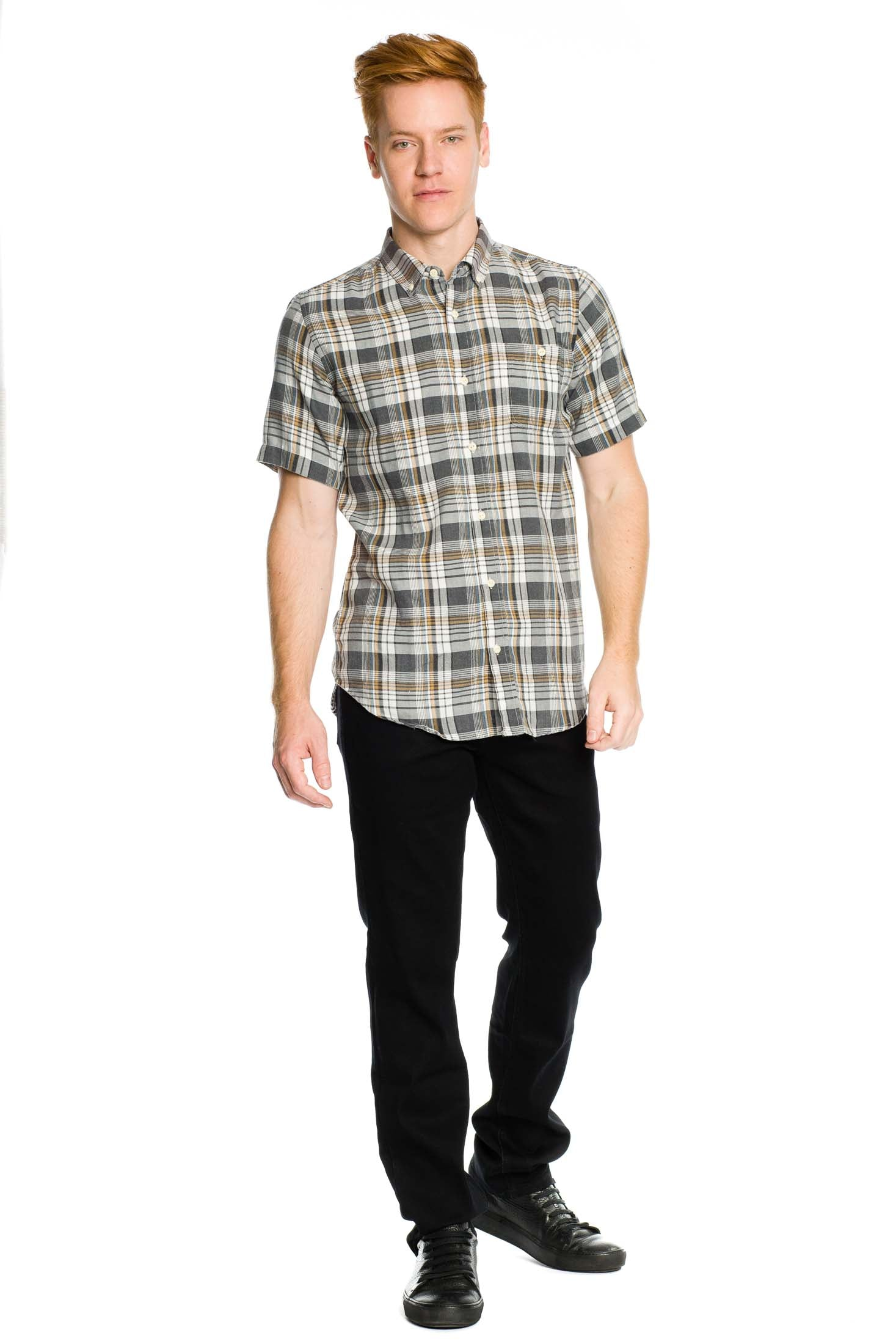 Highgarden Short Sleeve Shirt - Black - Ezekiel Clothing