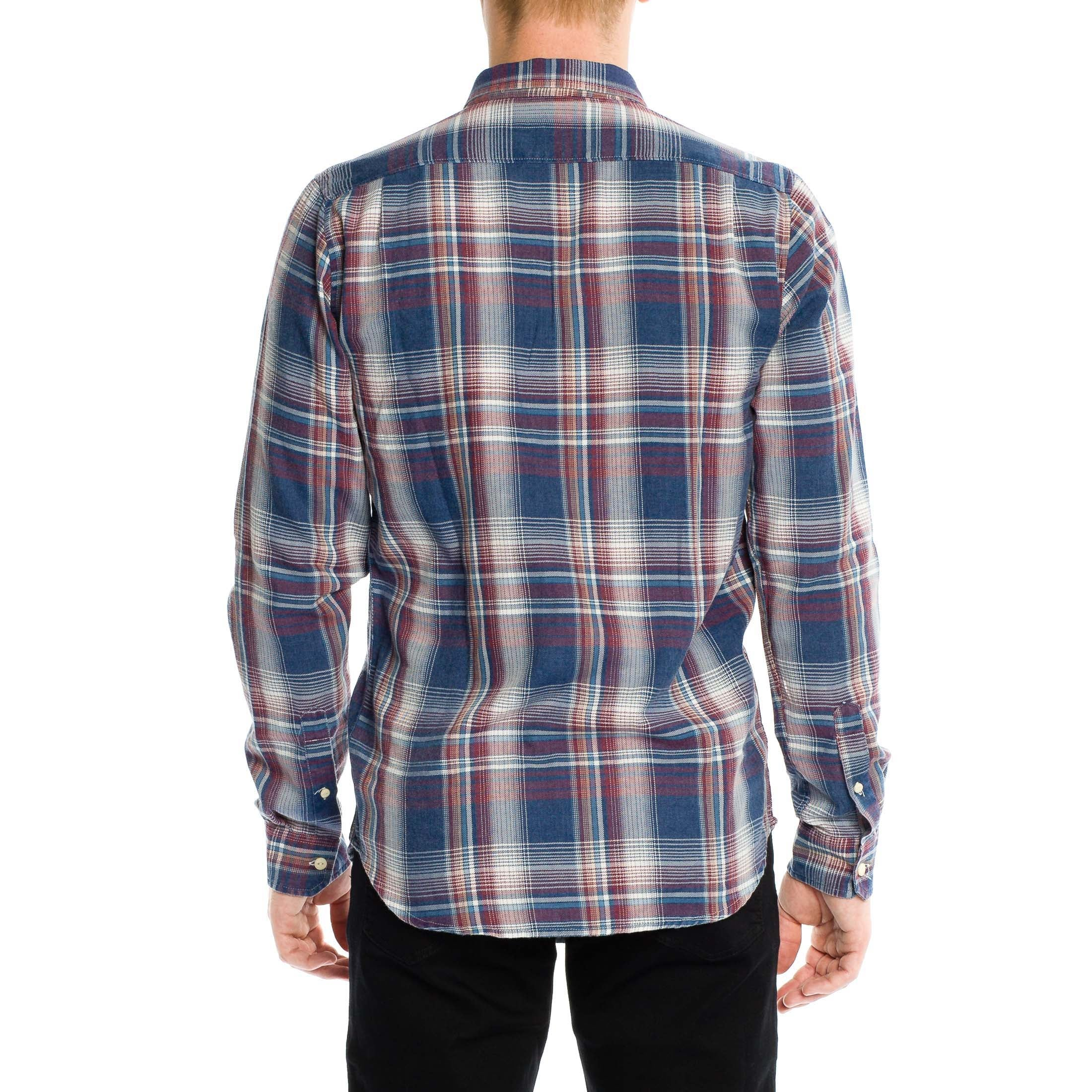 Miles Shirt - Dark Blue - Ezekiel Clothing