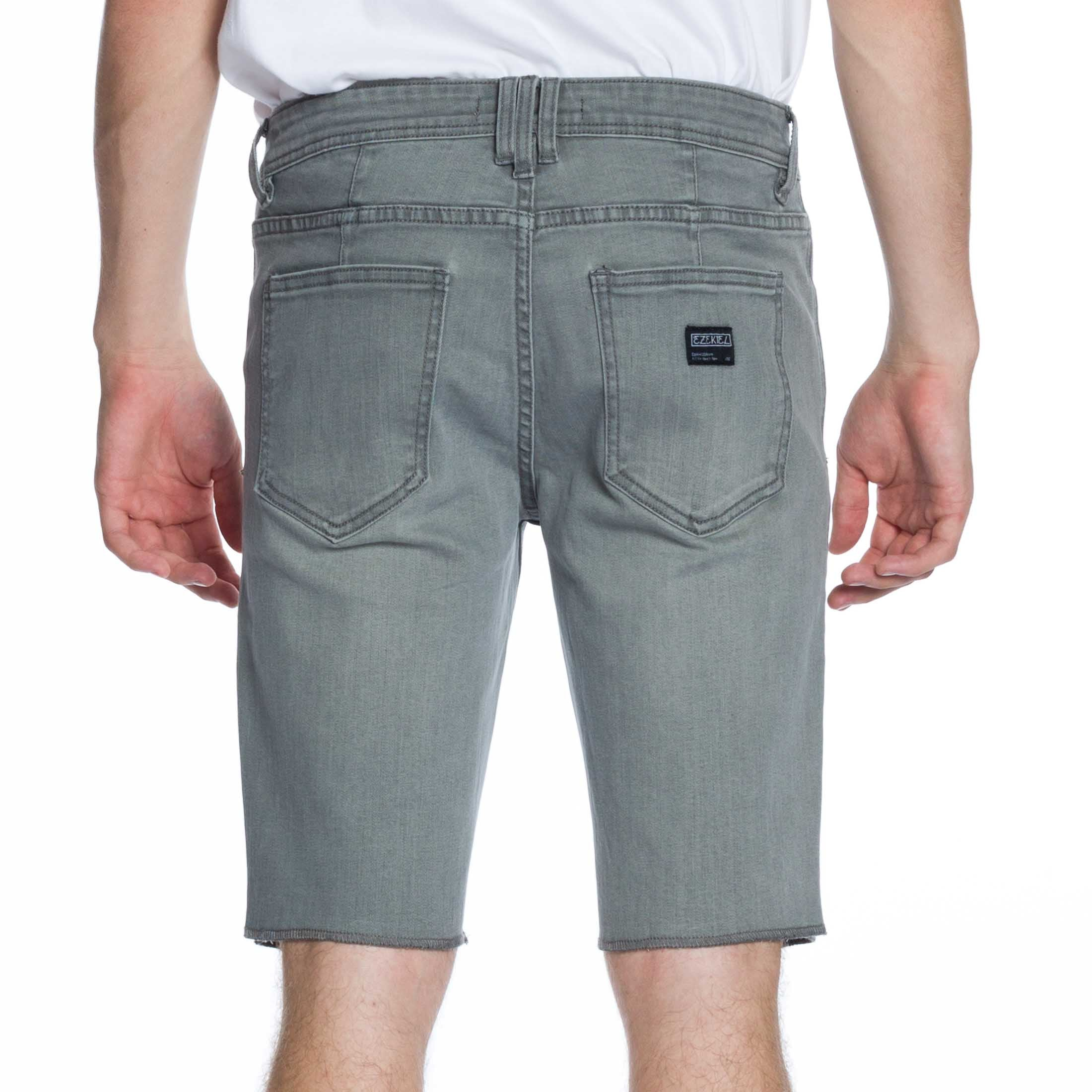 Now Denim Short - Heath. Grey - Ezekiel Clothing