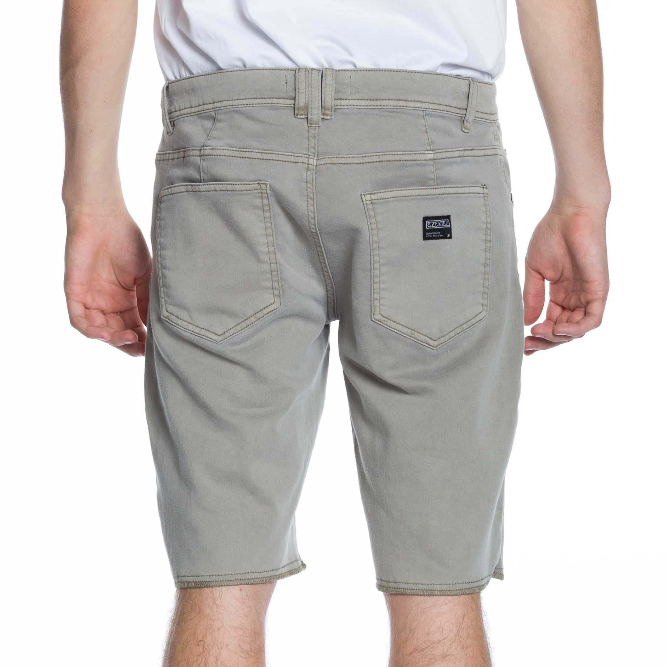 Now Denim Short - Sand - Ezekiel Clothing