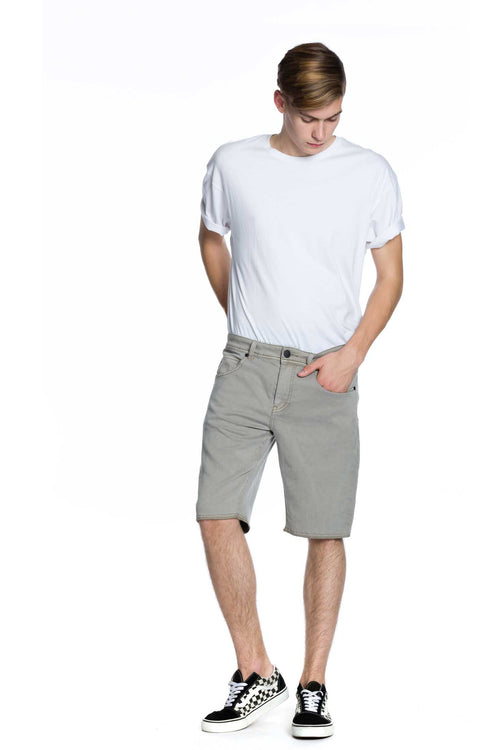 Now Denim Short - Sand