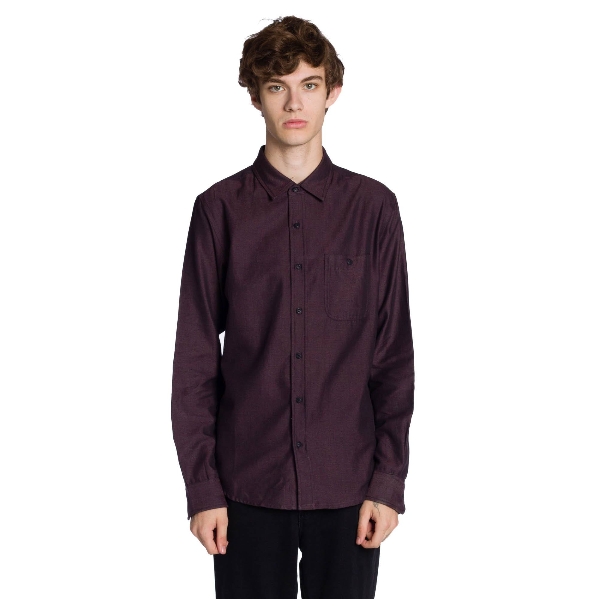 Reserved Long Sleeve Shirt - Wine