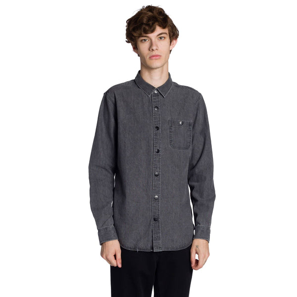 Clynt Long Sleeve Shirt - Black