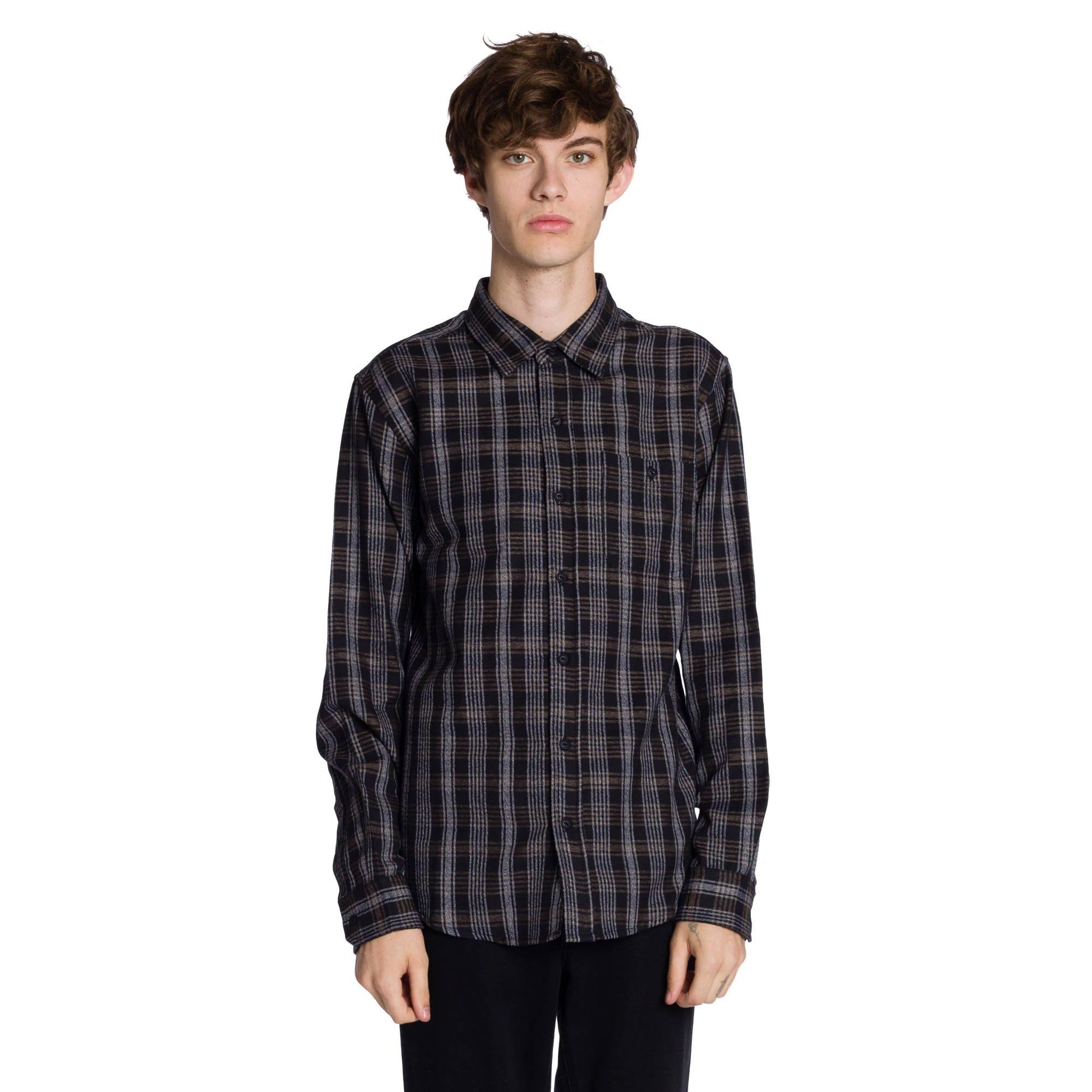 Vance Long Sleeve Shirt - Black