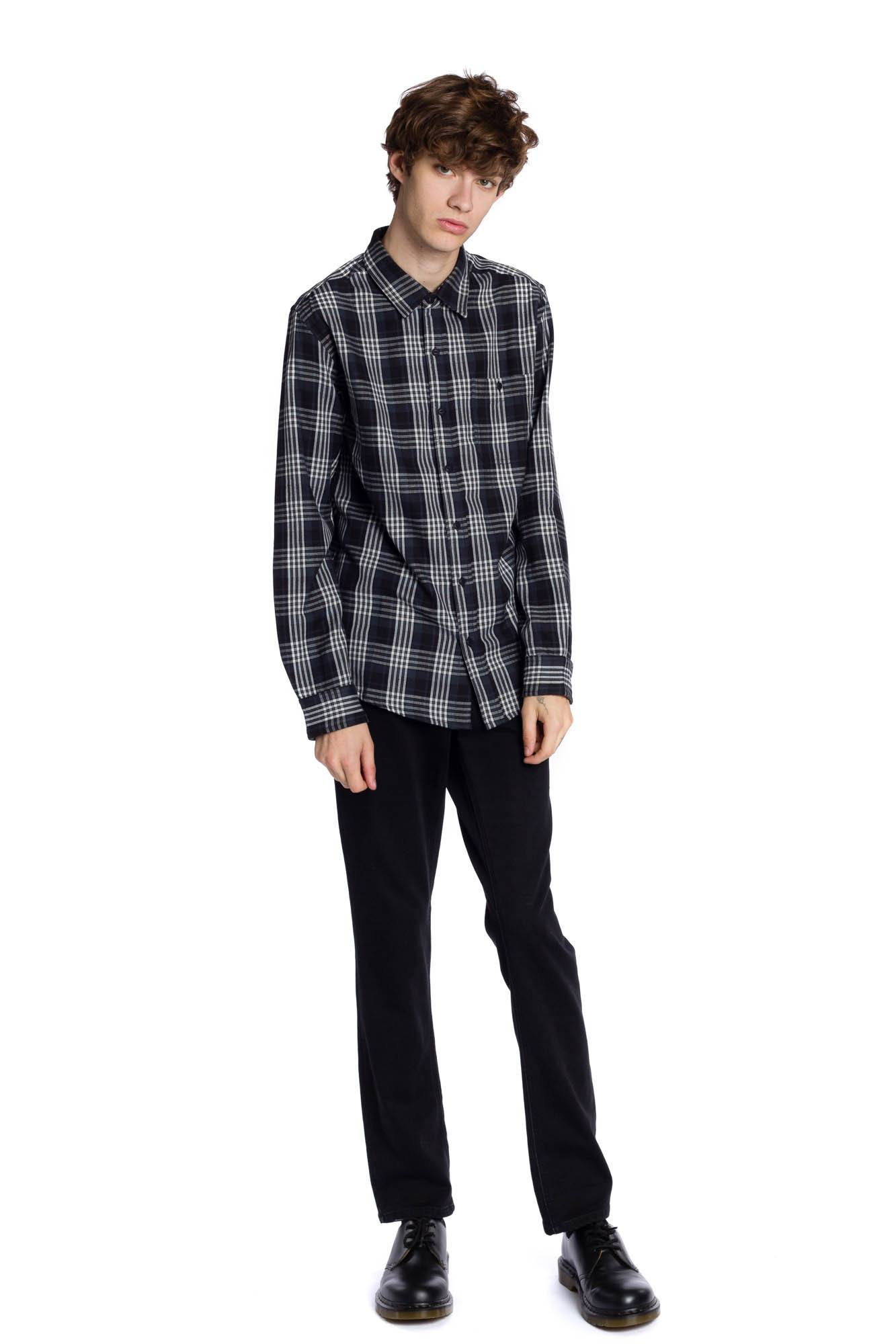Harris Long Sleeve Shirt - Black
