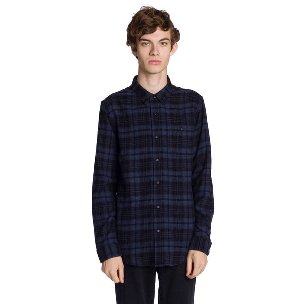 Gregory Long Sleeve Shirt - Navy