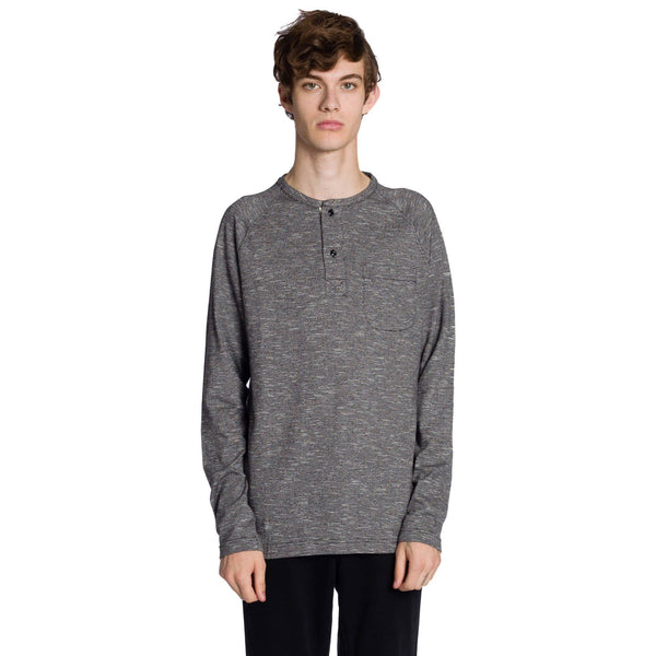 Bowie LS Knited Pullover - Black